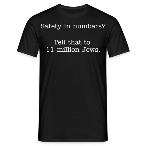 Safety in numbers - Men's T-Shirt