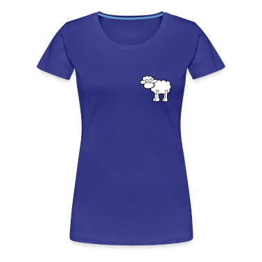 Aqua Sheep Women's T-Shirts