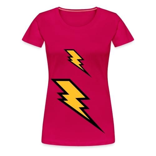 womens lightning tee - Women's Premium T-Shirt