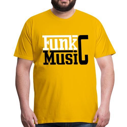 funky shirt - T-shirt Premium Homme
