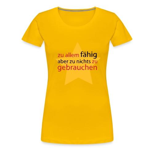 Angestellte  - Frauen Premium T-Shirt