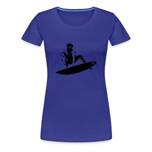 Surf Munich - Frauen Premium T-Shirt