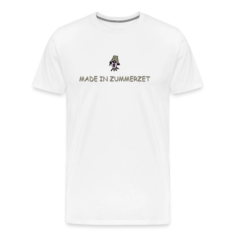 made in zummerzet big & tall t-shirt - Men's Premium T-Shirt