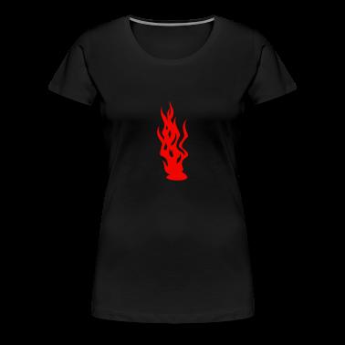 Nero fiamme / flames (1c) T-shirt