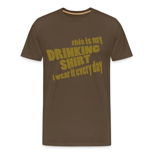 Drinking Shirt - Mannen Premium T-shirt