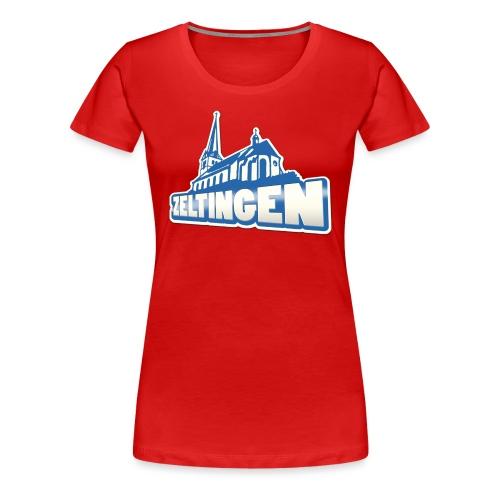 Zeltingen - Frauen Premium T-Shirt