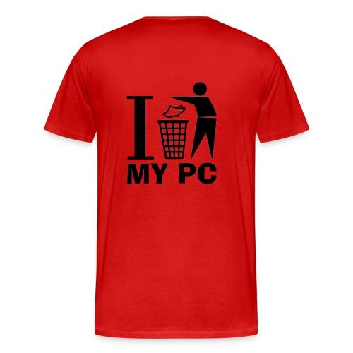 Hai un Mc in Tosh? (schiena) - Maglietta Premium da uomo