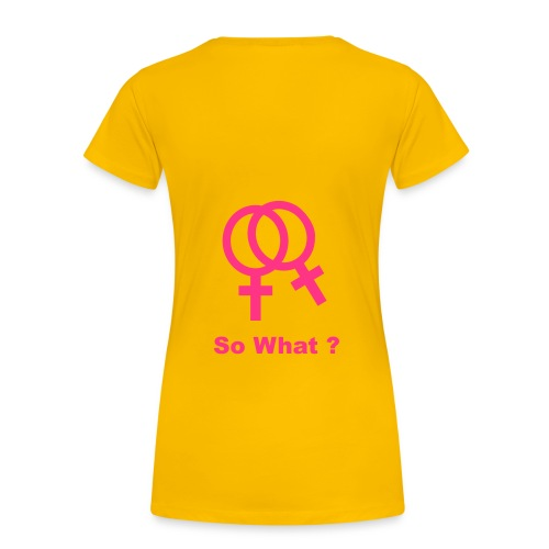et alors - T-shirt Premium Femme