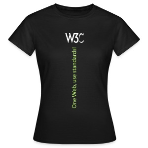 oneweb_women_black_shirt - Women's T-Shirt