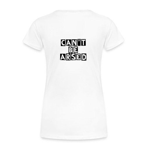 CBA Women's Shaped T-Shirt (Black Font) - Women's Premium T-Shirt