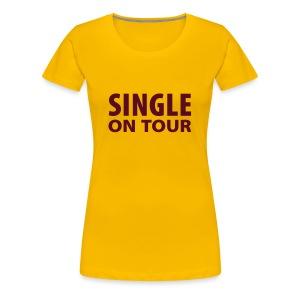 Ladies Corio roze single - Vrouwen Premium T-shirt