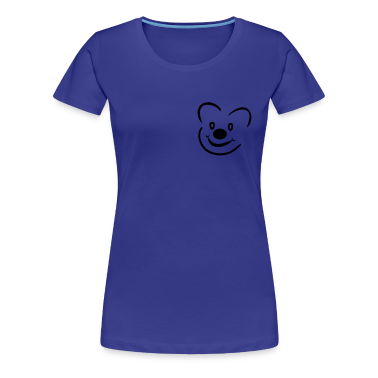 Aqua Bear Women's T-Shirts