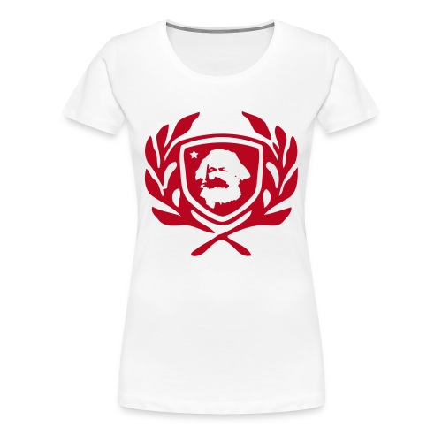 Marx - T-shirt - Dam - Premium-T-shirt dam