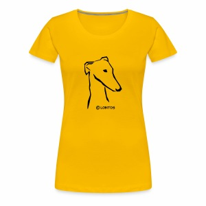 Galgokopf 1 - Frauen Premium T-Shirt