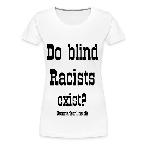 racists_uk_W - Dame premium T-shirt