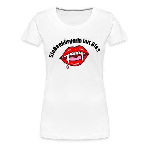 Siebenbürgerin mit Biss - Frauen Premium T-Shirt