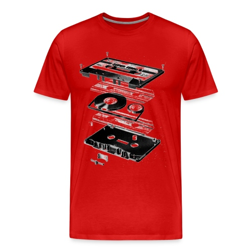 kaseta - Koszulka męska Premium