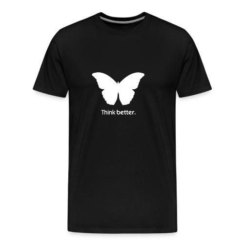 Think Better MorphOS, weiss - Männer Premium T-Shirt