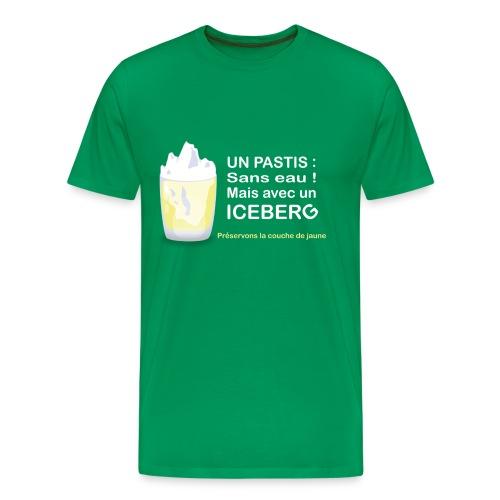 Un iceberg dans mon pastis - T-shirt Premium Homme
