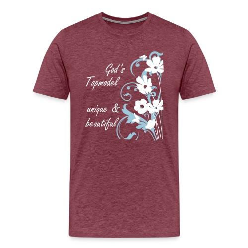 God's Topmodel - Men's Premium T-Shirt