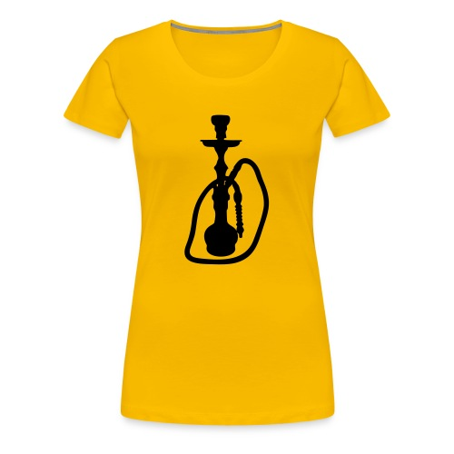 Girlieshirt Shisha - Frauen Premium T-Shirt