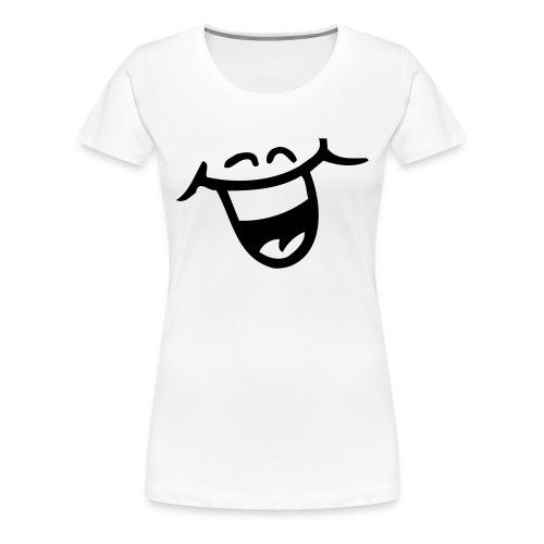 Klassisk Damtopp Smilis ^^ - Premium-T-shirt dam