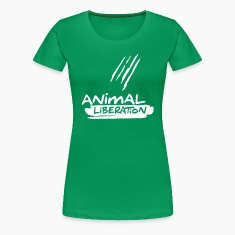 Womens Shirt 'Animal Liberation' WG