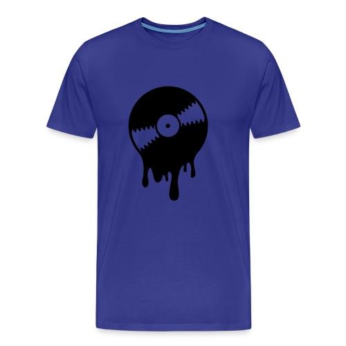 vinyl smelt - Premium T-skjorte for menn