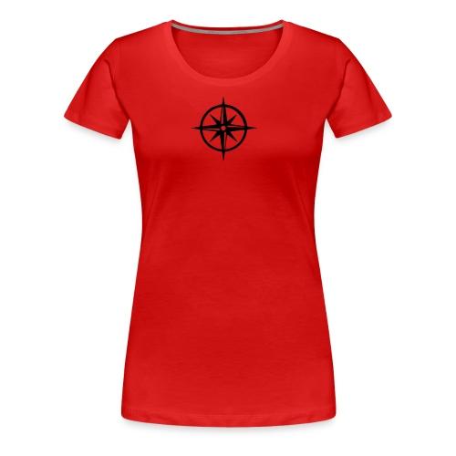 Kompass-T-Shirt - Frauen Premium T-Shirt