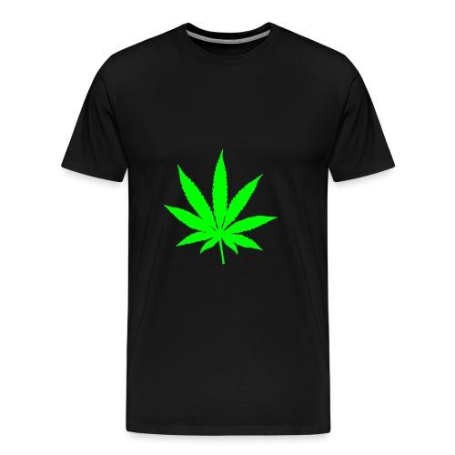 Weed - Herre premium T-shirt