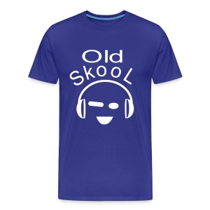 Old Skool - Mannen Premium T-shirt