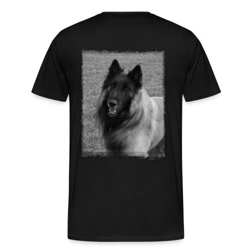 T-shirt Oversize Homme Chaman Noir et Blanc - T-shirt Premium Homme