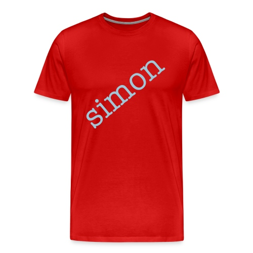 customisable cross name tshirt - Men's Premium T-Shirt