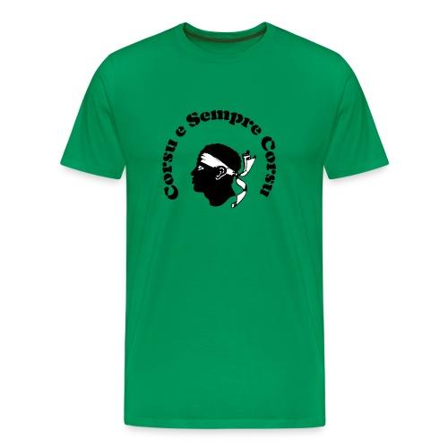 Corsu Sempre transparent - Männer Premium T-Shirt