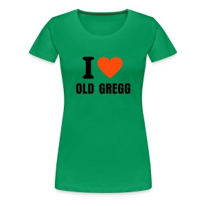Old Gregg two - Women's Premium T-Shirt