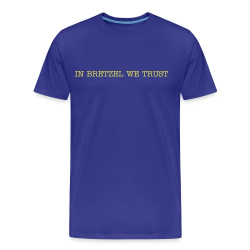 IN BRETZEL WE TRUST - T-shirt Premium Homme