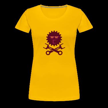 Rose clair rouage grincheux / grumpy wheelwork (2c) T-shirts