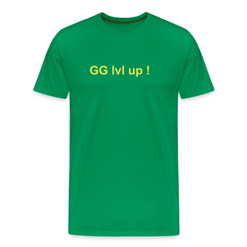 GG lvl up ! - T-shirt Premium Homme