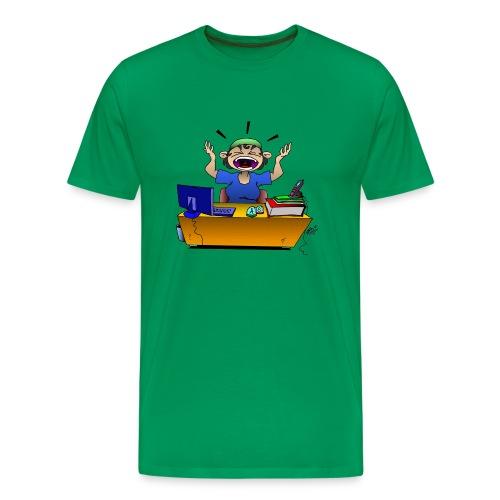 crise de nerf - T-shirt Premium Homme
