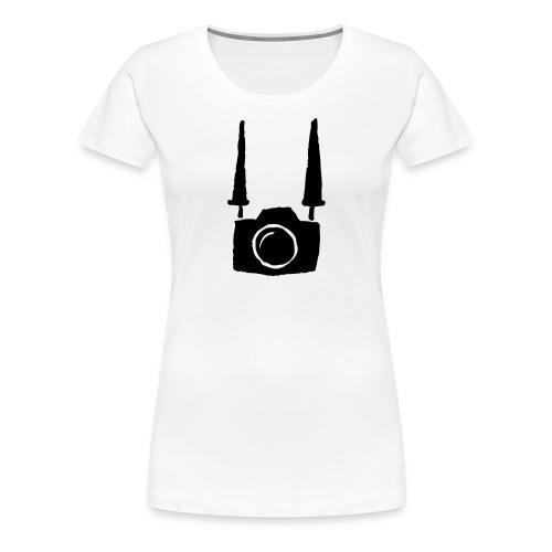 tshirt retro femme  - T-shirt Premium Femme