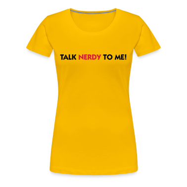 Rosa chiaro Talk Nerdy to Me (2c) T-shirt
