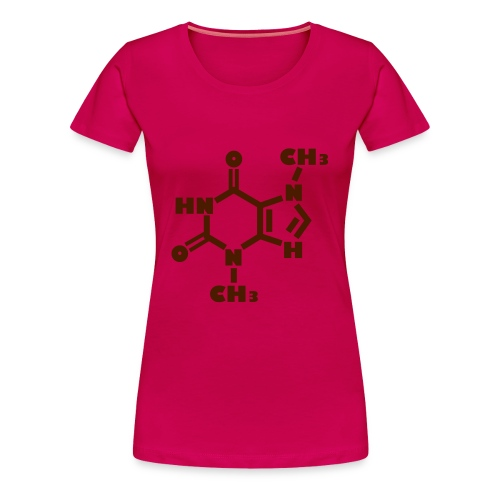 Chemical formula - chocolate - Women's Premium T-Shirt