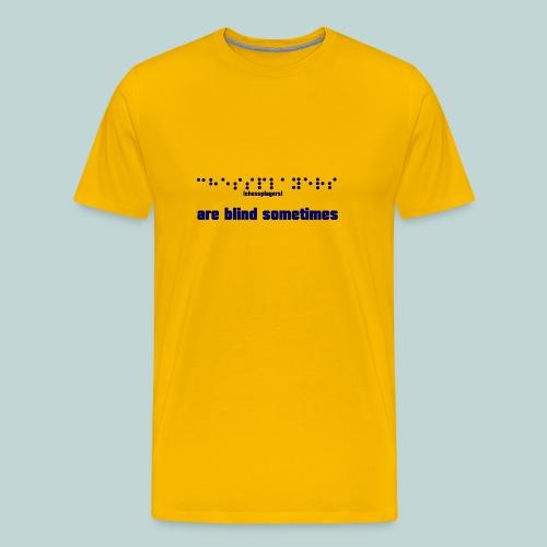 Braille - Männer Premium T-Shirt