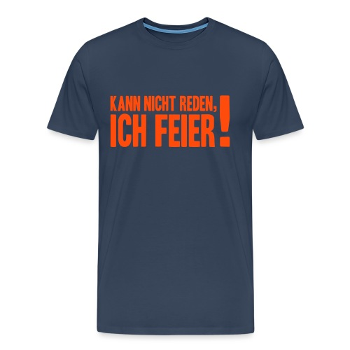 Kann nicht reden... - Männer Premium T-Shirt