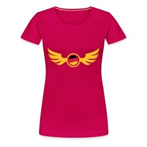 Pink germany_2 T-Shirts - Frauen Premium T-Shirt