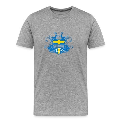 Jalkapallo ROUTSI   SVERIGE - Miesten premium t-paita