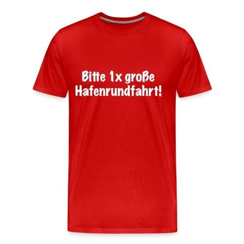 Übergrößenshirt Touri - Männer Premium T-Shirt
