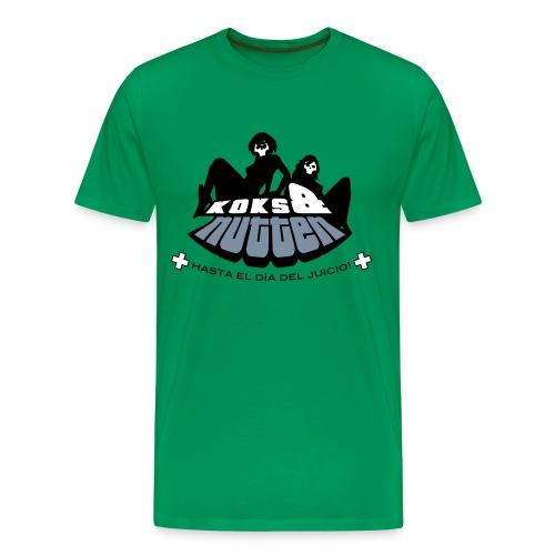 Moosgrün ... bis zum jüngsten Tag! - Männer Premium T-Shirt