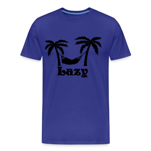 Men's Premium T-Shirt - Lazy T-Shirt