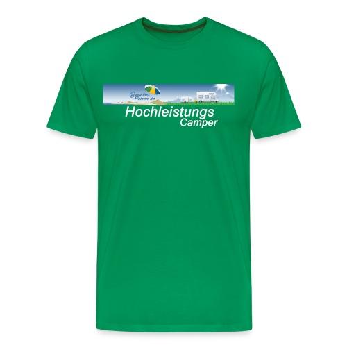 T-Shirt Männer grün - Männer Premium T-Shirt